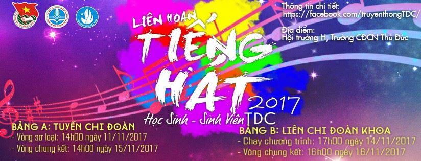 Liên hoan tiếng hát HSSV 2017