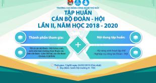 Tap huan Can bo Doan - Hoi 2019